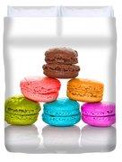 Crazy Macarons 2 Duvet Cover