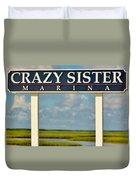 Crazy Sister Marina Duvet Cover