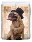 Crazy Top Dog Duvet Cover