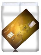 Credit Card Duvet Cover by Johan Swanepoel