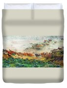 Creek Crossing Duvet Cover