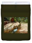 Creek Crossing Duvet Cover