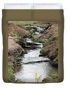 Creek In Alabama Duvet Cover