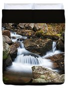 Creek In Maine Img 6377 Duvet Cover