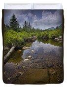 Creek In Vermont Duvet Cover