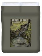 Creek  Duvet Cover by Janet Felts