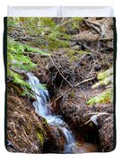 Creeks Fall Duvet Cover