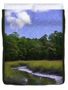 Creekside Fishing Duvet Cover
