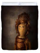 Creepy - Doll - Matilda Duvet Cover by Mike Savad