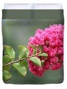 Crepe Myrtle Branch Duvet Cover
