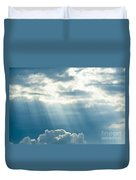 Crepuscular Rays Duvet Cover