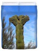 Crested Cactus Duvet Cover