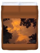 Cresting The Storm Clouds Duvet Cover