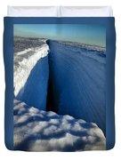 Crevasse Duvet Cover