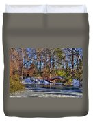 Crim Dell In Winter William And Mary Duvet Cover