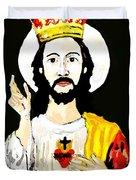 Cristo Rei Duvet Cover