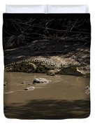 Crocodile   #7282 Duvet Cover