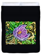 Crocus Duvet Cover