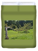 Crooked Apple Tree Duvet Cover