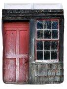 Crooked Red Door Duvet Cover