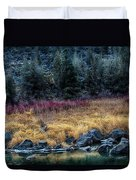 Crooked River At Smith Rock Duvet Cover