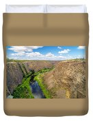 Crooked River Canyon Duvet Cover
