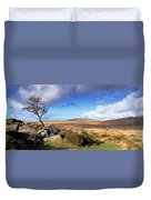 Crooked Tree At Feather Tor, Staple Duvet Cover