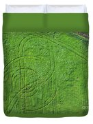 Crop Circles Duvet Cover