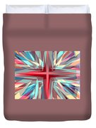 Cross Burst Duvet Cover