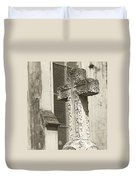 Cross Charleston Sc Duvet Cover
