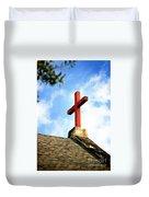 Cross Church Roof Duvet Cover