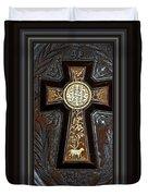 Cross In Leather Duvet Cover