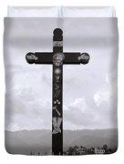 Cross Of Jesus Christ Duvet Cover