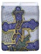 Cross Of Lorraine 1 Duvet Cover