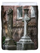 Cross Tombstone Duvet Cover