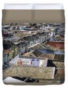 Cross Town.. Duvet Cover