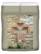 Cross Window Duvet Cover by Eric Swan