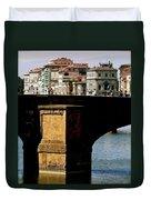Crossing The Arno Duvet Cover