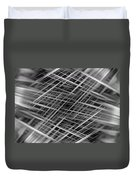 Mono Lines 3 Duvet Cover