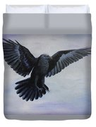 Crow Flight Duvet Cover