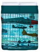 Crowded Skies Duvet Cover