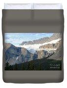 Crowfoot Glacier Duvet Cover