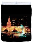 Crown Center Christmas - Kansas City-1 Duvet Cover