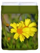 Crown Daisies  Duvet Cover