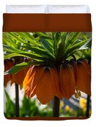 Crown Imperial Flowers Duvet Cover
