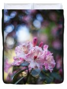 Crown Of Rhodies Duvet Cover