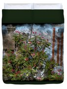 Crown Of Thorns - Featured In Beauty Captured And Nature Photography Groups Duvet Cover