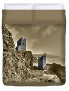 Crown Tin Mines  Duvet Cover