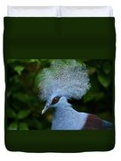 Crowned Pigeon Goura Cristata, Bali Duvet Cover