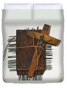Crucifix Box Duvet Cover